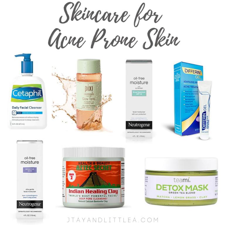 Skincare Routine For Acne Prone Skin Acne Prone Skin Care Skin Care Acne Acne Skincare Routine