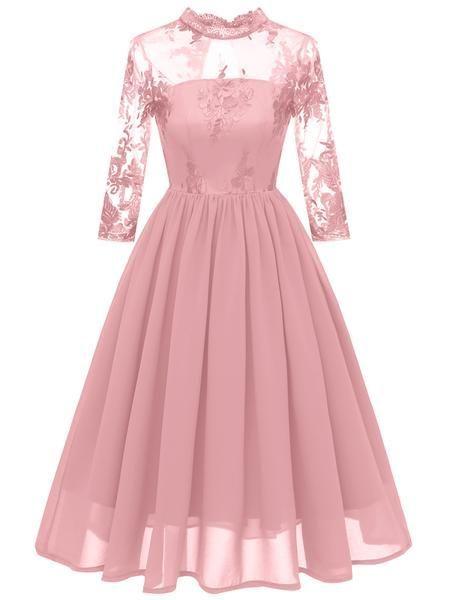 Photo of LaceShe Women's Multi-Color Elegant Party Lace Dress # designe #designerdeinterior …