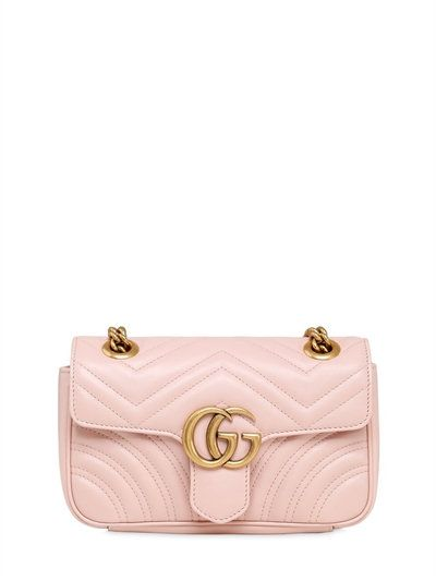 1a7d2540c069 GUCCI Mini Gg Marmont 2.0 Quilted Leather Bag