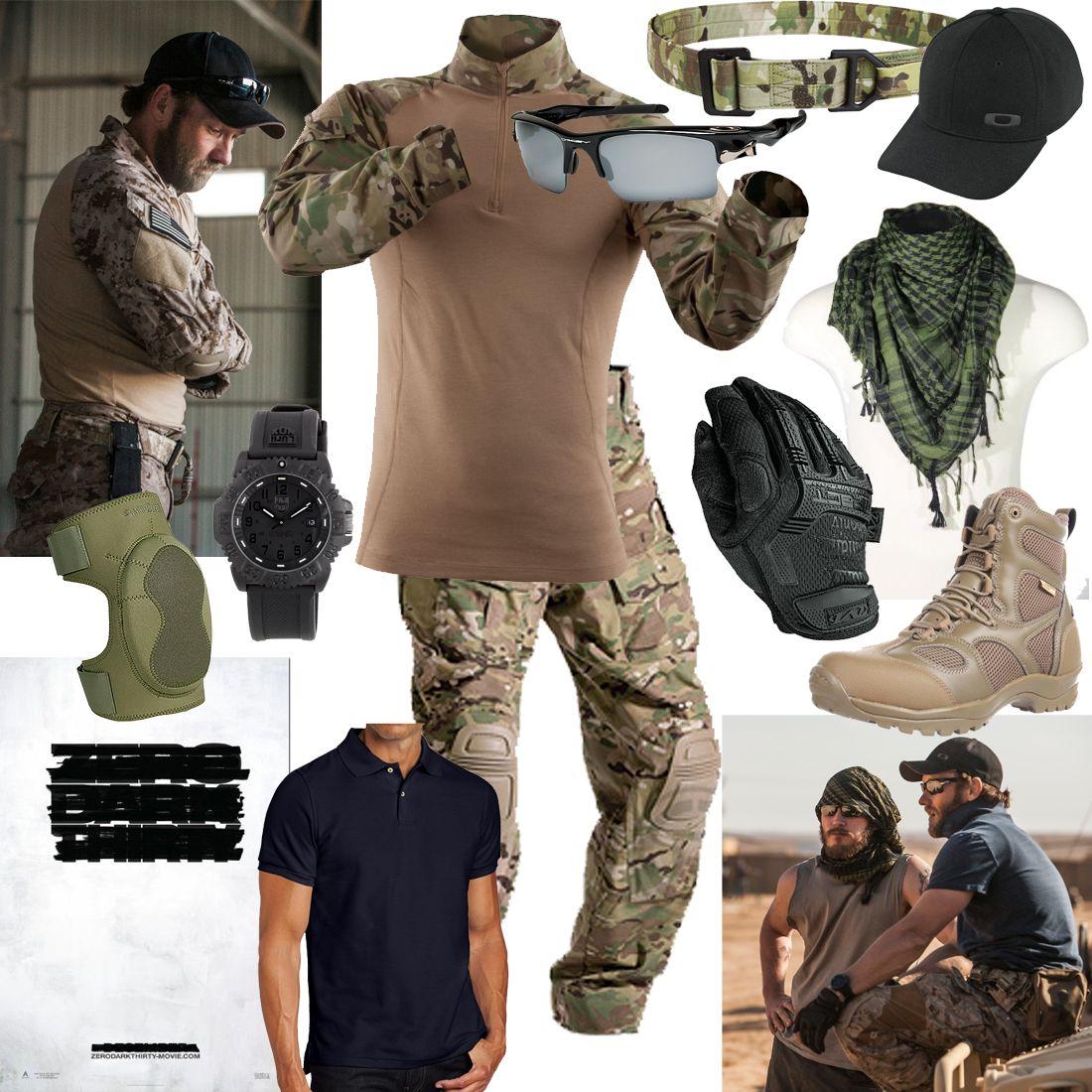 Zero Dark Thirty-Joel Edgerton Navy SEAL inspired ...
