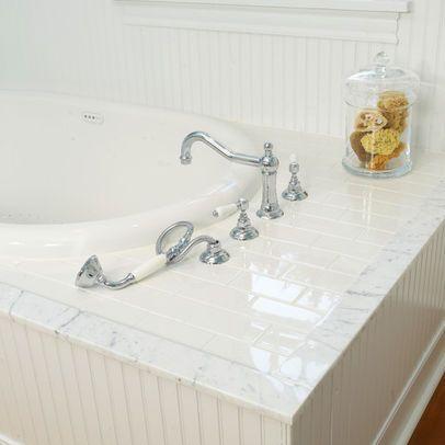 tile bathtub surround design ideas, pictures, remodel and