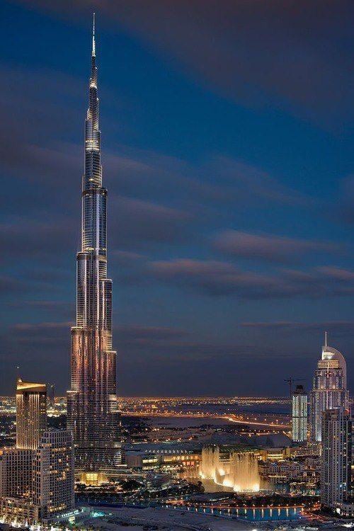 Highest Building Dubai City Burj Khalifa Dubai