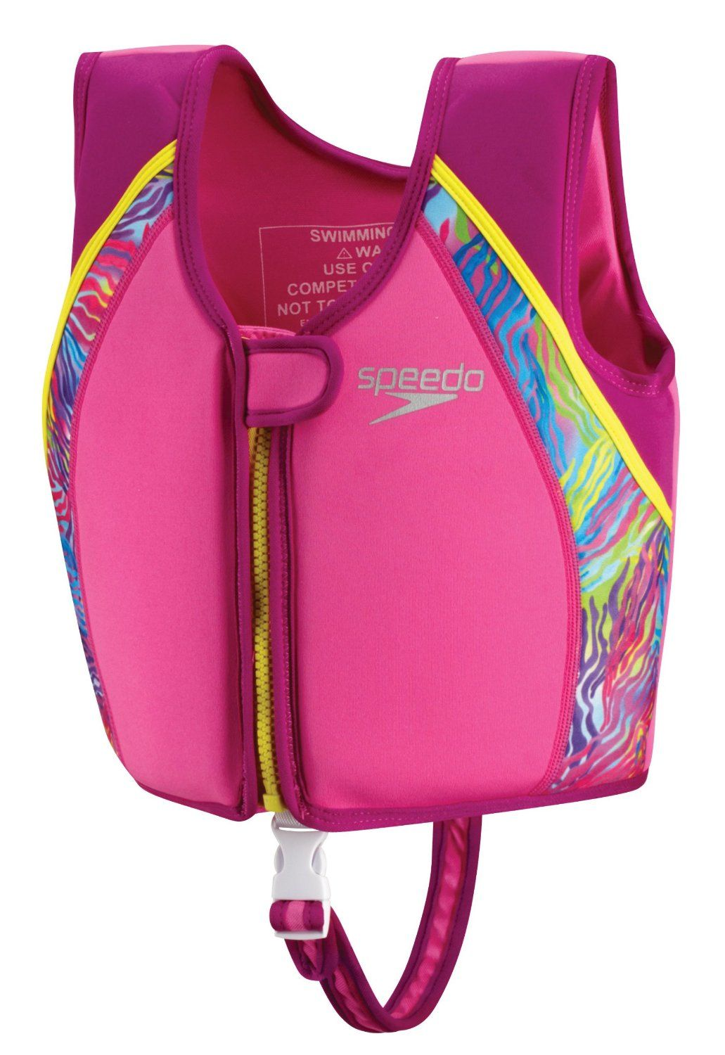 Speedo Begin To Swim Uv Printed Neoprene Swim Vest Swim Accessories Swimming Neoprene