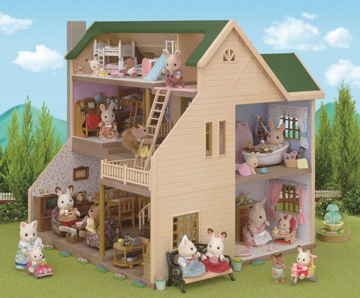 Buy Sylvanian Families Comfy Living Room Set Playsets And Figures Argos In 2020 Comfy Living Room Living Room Sets Fun Living Room