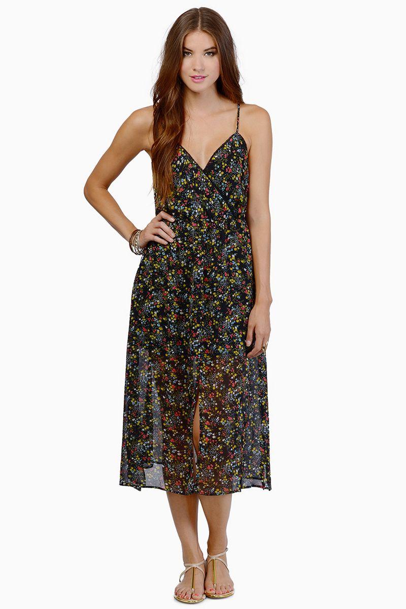Summer Fling Dress In Black Floral Summer Dresses Black Floral Maxi Dress Womens Maxi Dresses [ 1200 x 800 Pixel ]