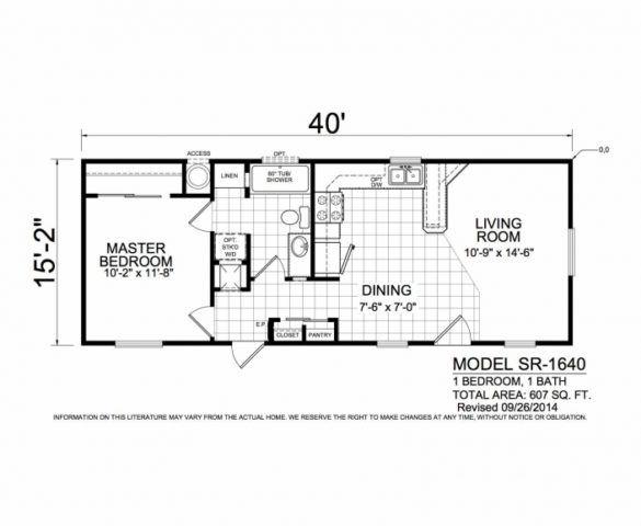 Sunrise Sr1448 Factory Homes Direct Inc Southwest Shed House Plans Tiny House Floor Plans Mobile Home Floor Plans