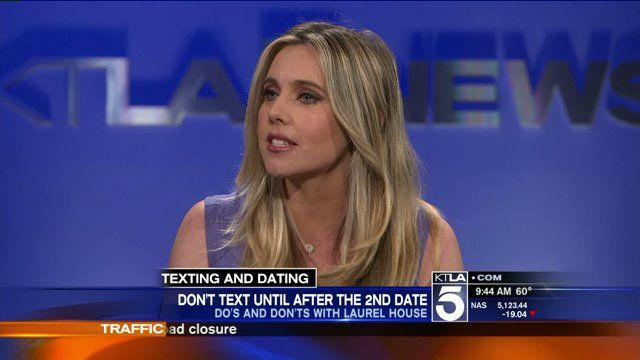 """Dating Coach and Author of """"Screwing The Rules,"""" Laurel House talks about the """"Do's & Dont's"""" of Texting & Dating! http://bit.ly/1Hdaq84 via KTLA 5 Morning News"""