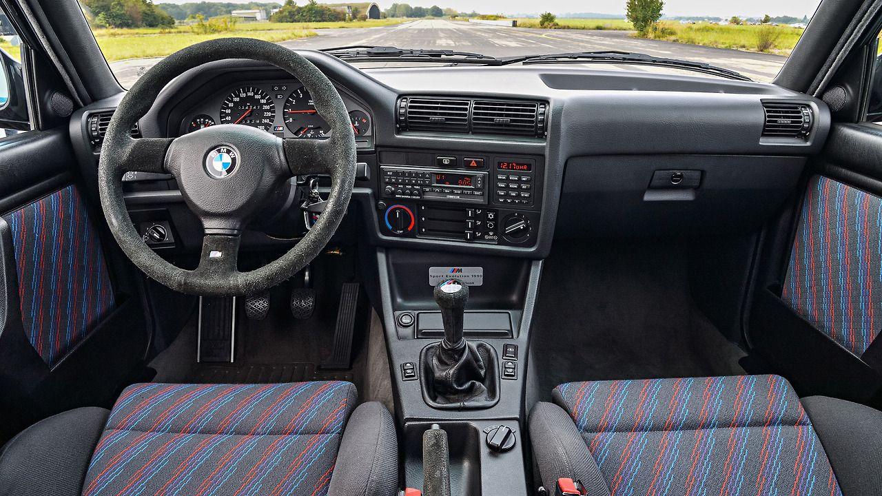 1989 Bmw M3 Sport Evolution Bmw E30 Bmw Bmw E30 Interior