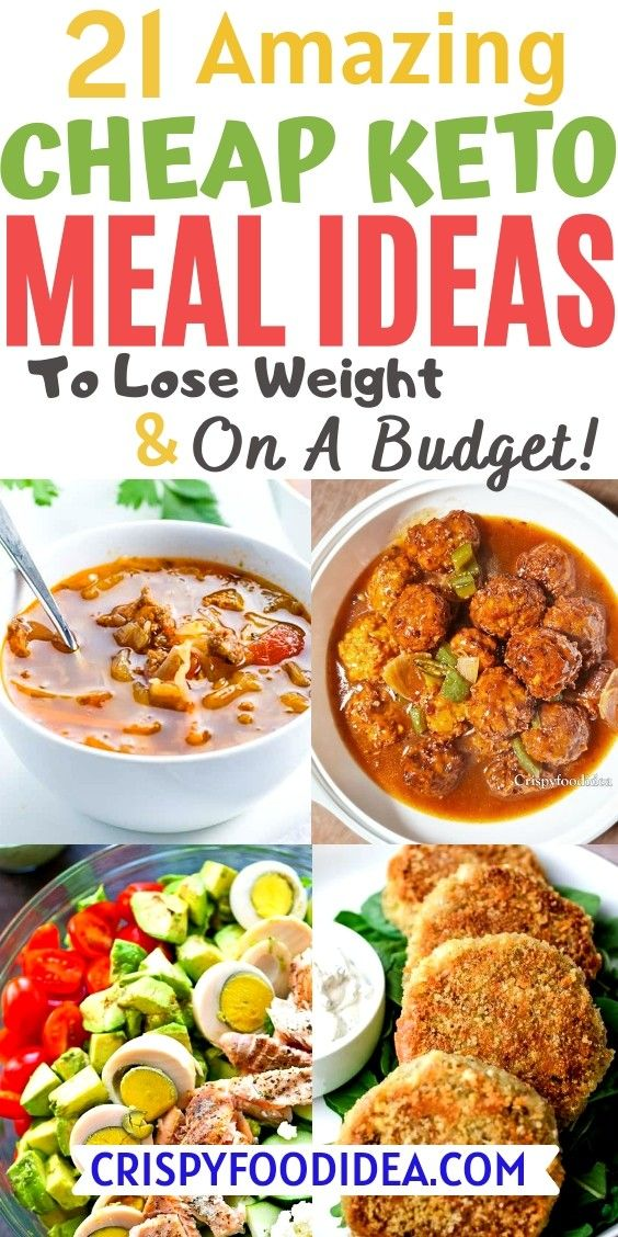 21 Amazing Easy Cheap Keto Meal Ideas To Lose Weig