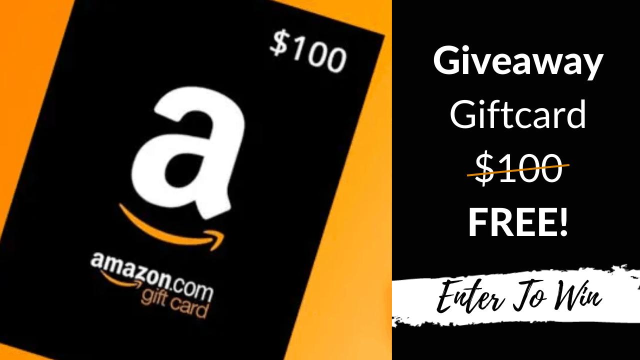 Win 100 Amazon Gift Card In 2020 Win Gift Card Amazon Gift Card Free Amazon Gift Cards