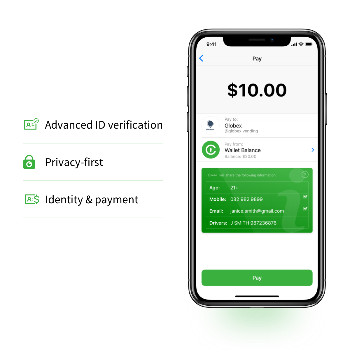 Civic Wallet Your Identity Your Money Your Choice Crypto Money Biometrics Bitcoin Transaction