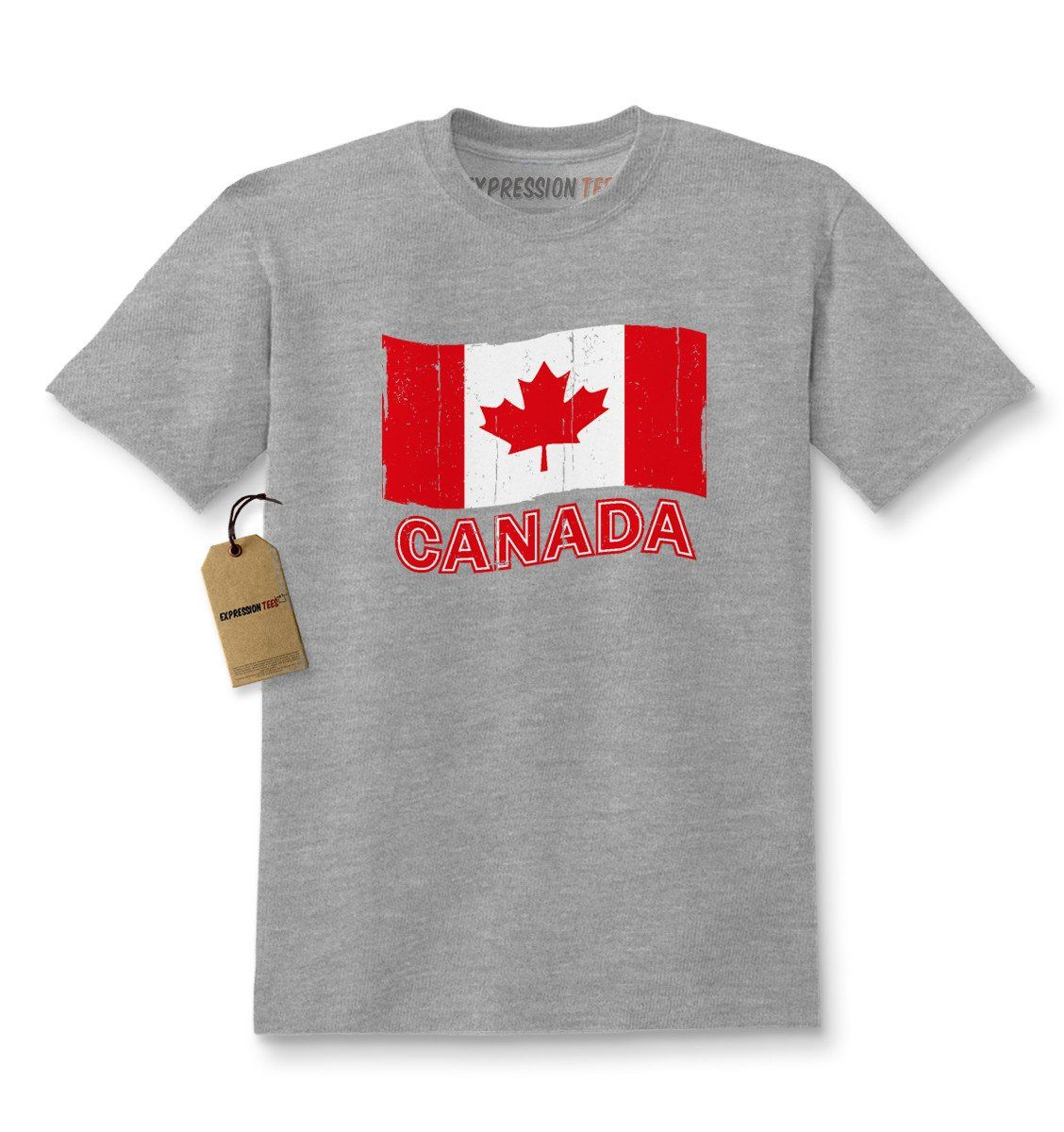 Vintage Canada Flag Youth T Shirt In 2021 Shirts Kids Tshirts Canadian Flag Clothing