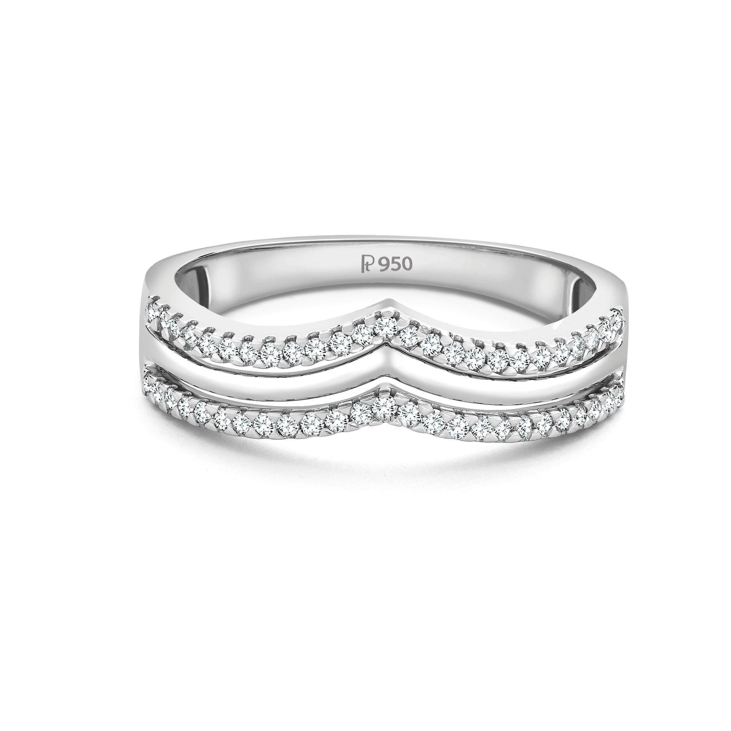Platinum Engagement Band Platinum jewelry, Platinum ring