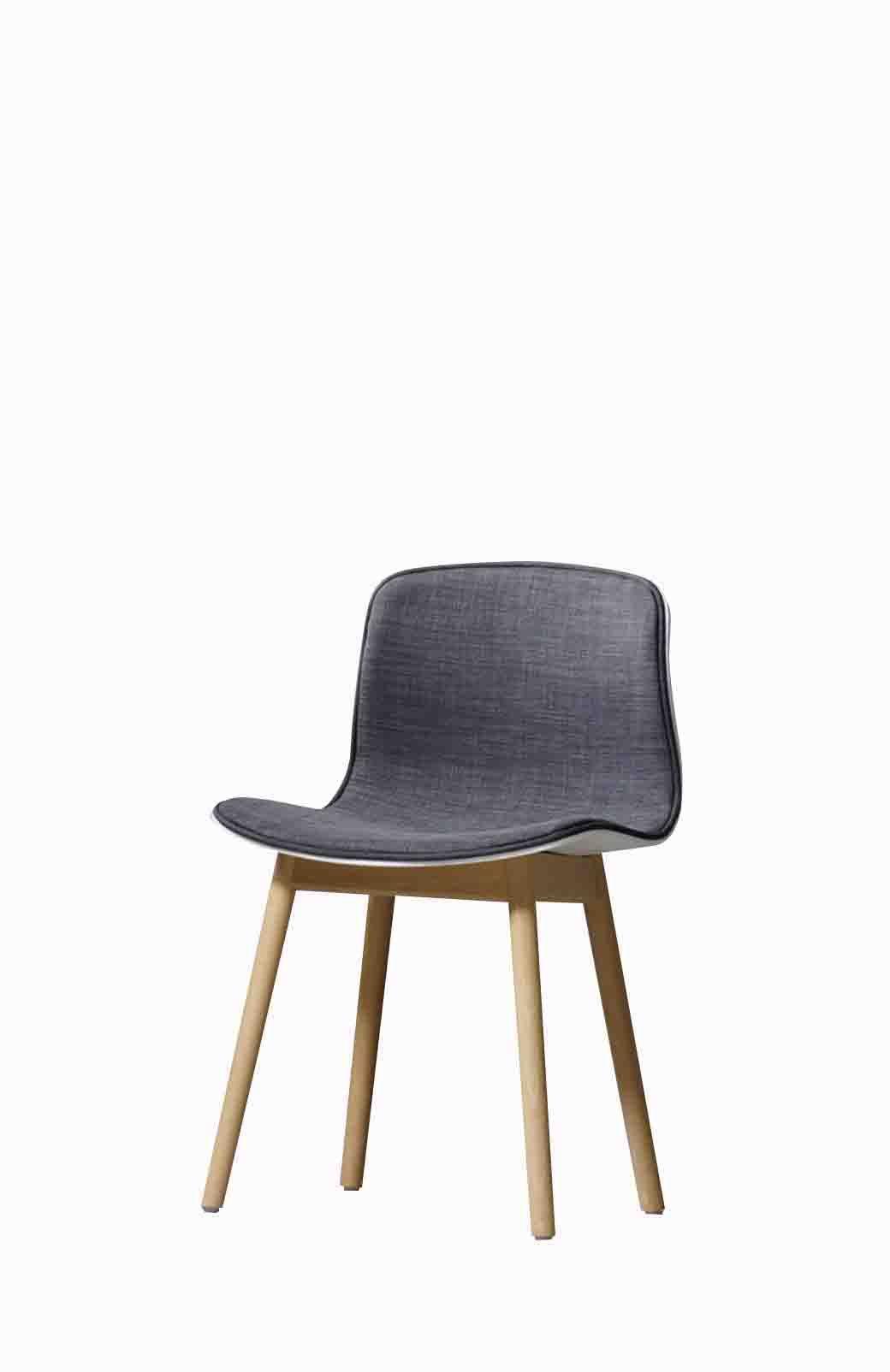 Modern Style Dining Chair Grey W480 D390 H810 Pp Pp Beech