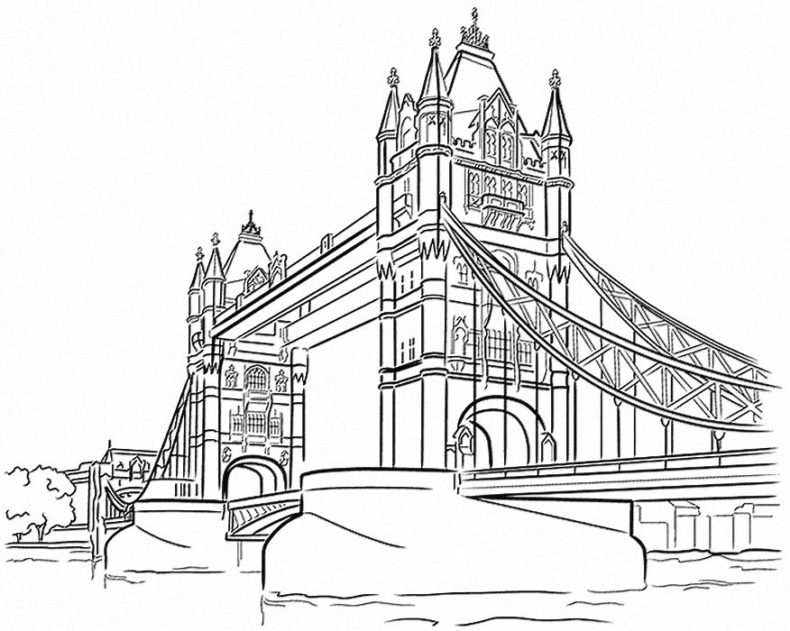 Line Drawing Tattoo London : Tower bridge londres ville city pinterest ecran
