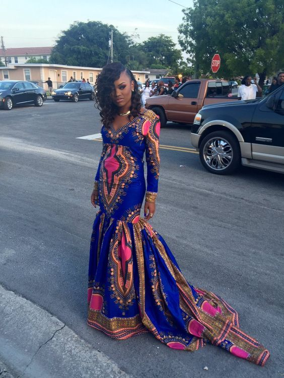 Slayed 30 Times African Print Prom Dresses Stole The Scene