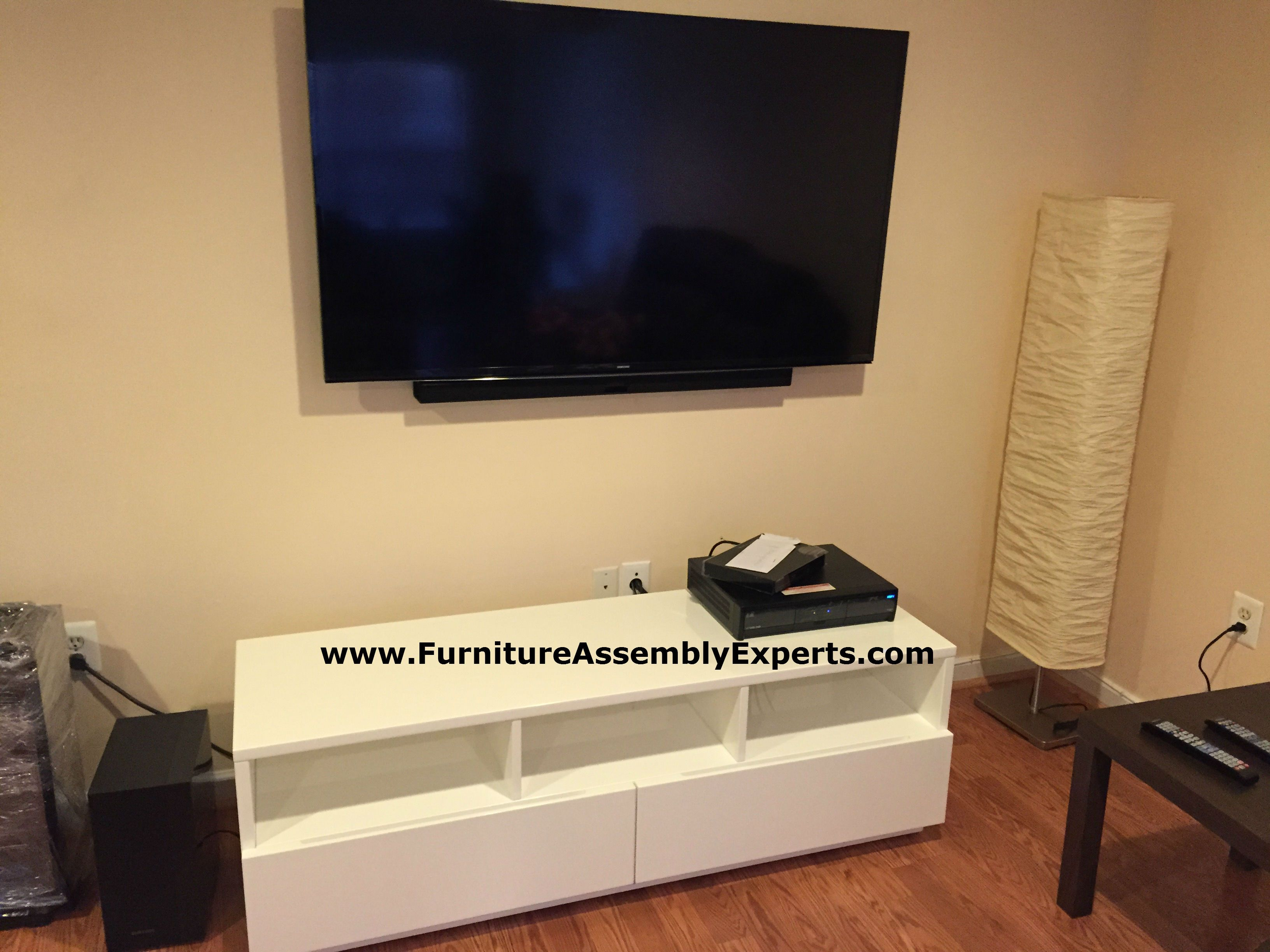 TV wall mounted in arlington VA by Furniture Assembly Experts LLC ...