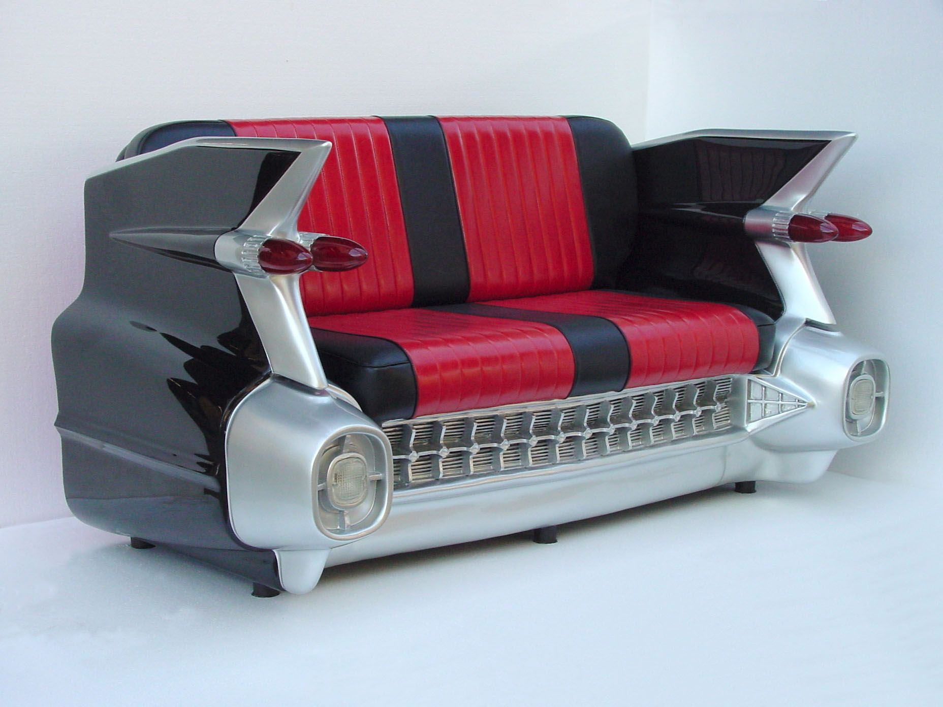 59 Cadillac Car Sofa Black