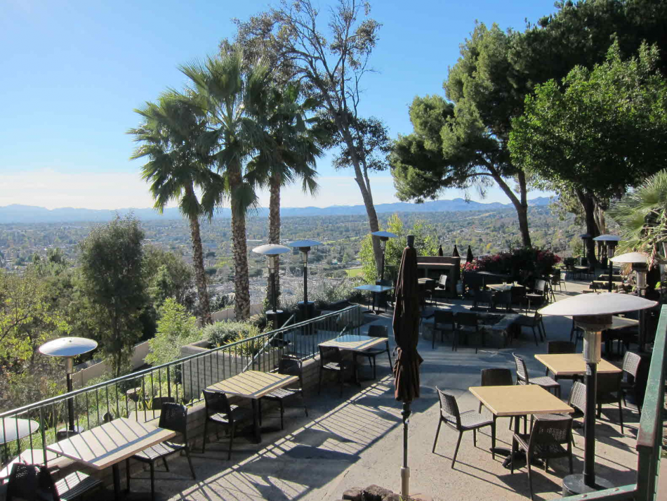 Odyssey Restaurant With Amazing Views Of The San Fernando Valley Northridge Ca Life In Usa