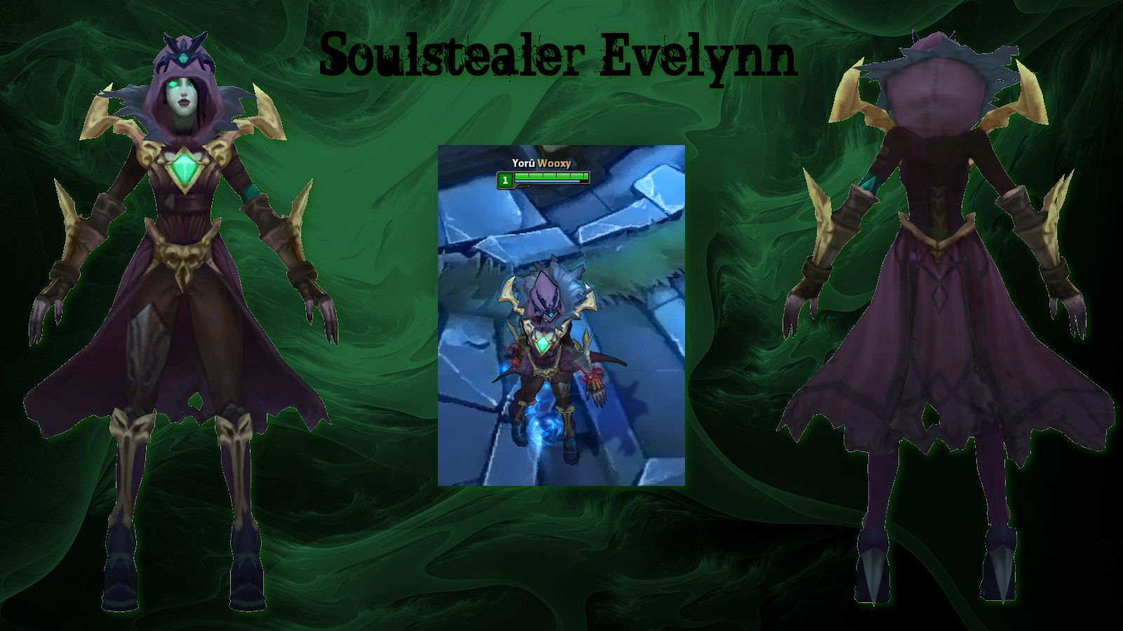 Soulstealer Evelynn   custom league skins    Thinking of you, What