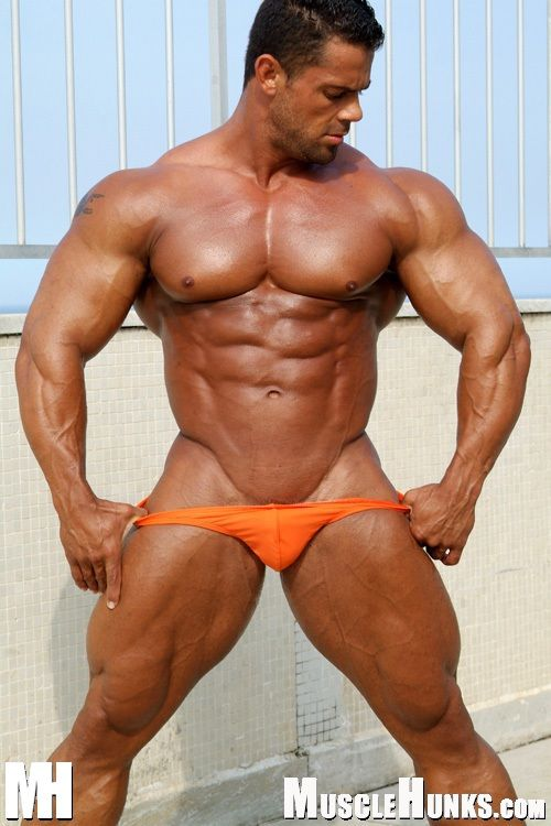 Paul Strong - Naked Muscle Men - Muscular Men  Sexy -9416