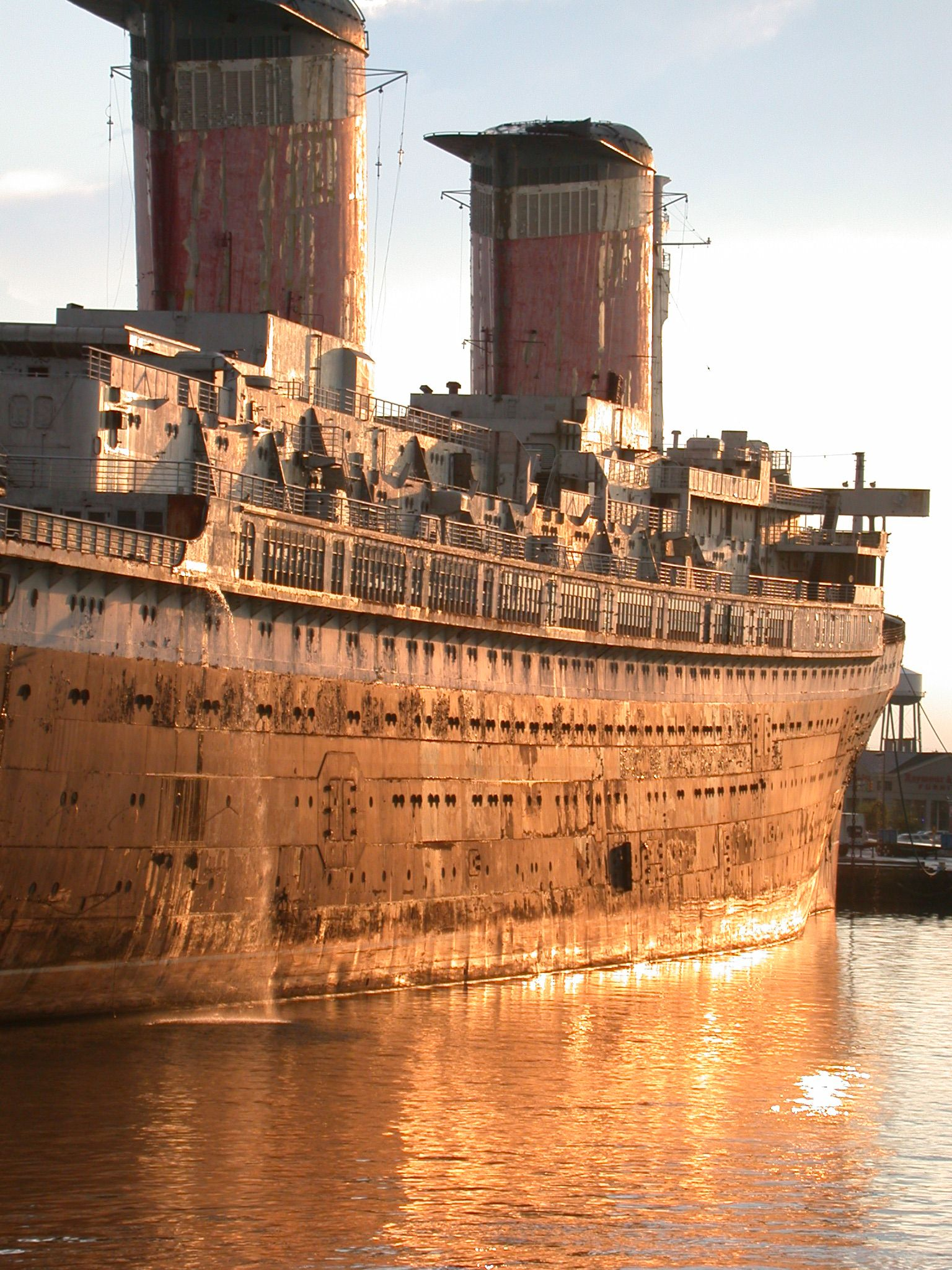Ss United States Engine Room: SS United States- Built In 1952 And Made Out Of The Most