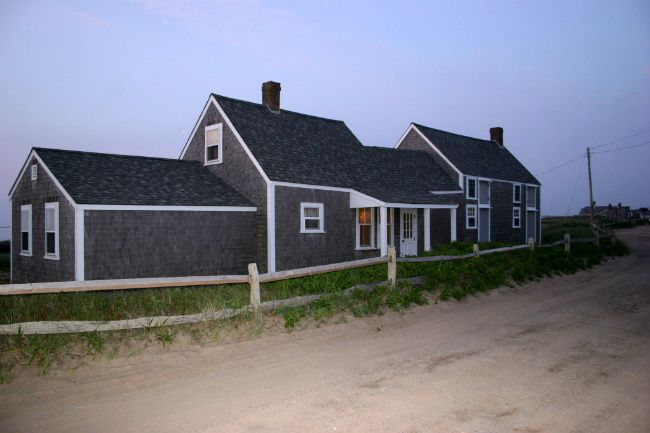 The Beach Crooked House New England Cottage Nantucket Style