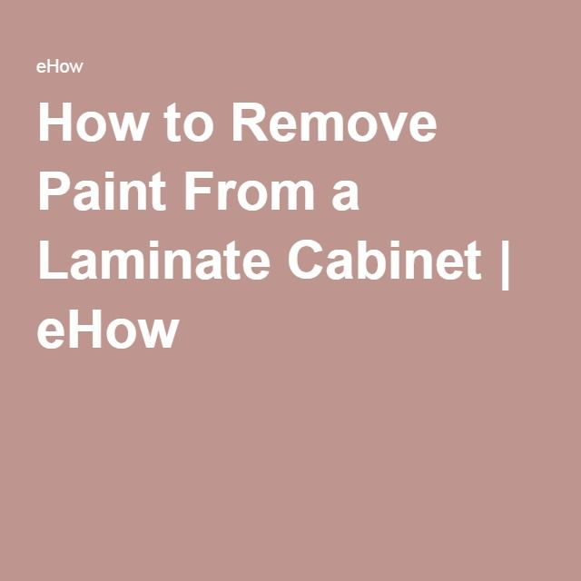 How To Remove Paint From A Laminate Cabinet Hunker Particle Board Furniture Particle Board Painting Particle Board Furniture