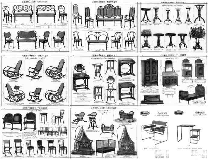 Are You Sitting On Thonet Industrial Revolution Mass