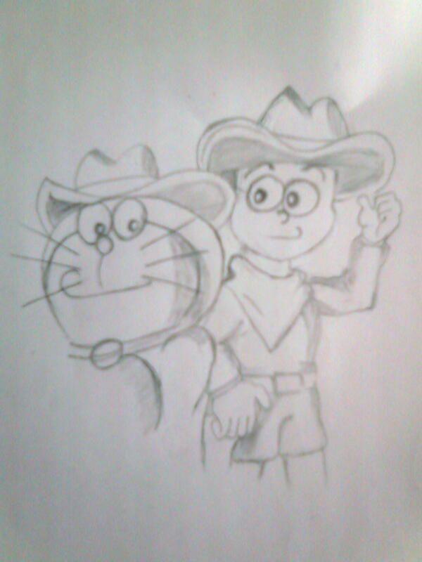 Doraemon- Sketch | Sketches, Humanoid sketch, Cartoon