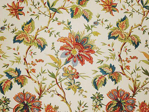 Waverly Fabric Belle Provence Felicite Jacobean Item W