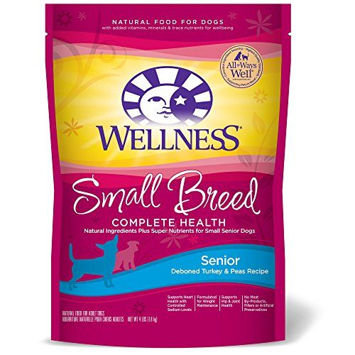 Wellness Complete Health Natural Dry Small Breed Senior Dog Food