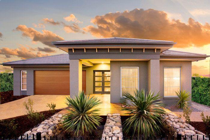 Facades | Single Storey | House Plans | Home Designs | Custom Home
