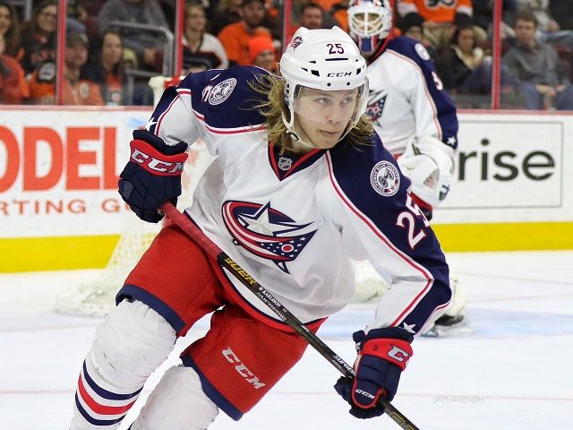 Columbus Extends William Karlsson - http://thehockeywriters.com/columbus-blue-jackets-sign-william-karlsson/