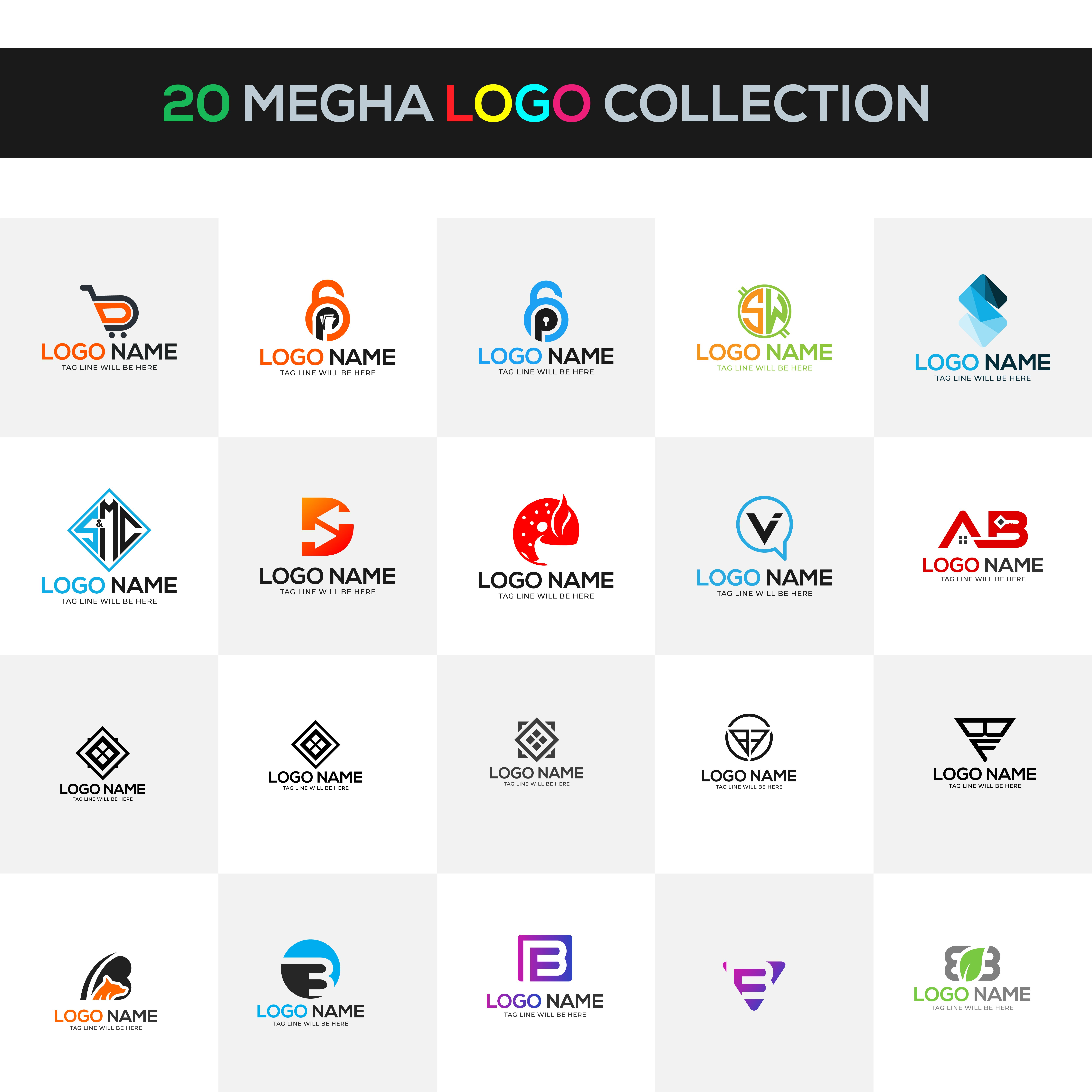 Collection Of Yoga People Logo Design Templates