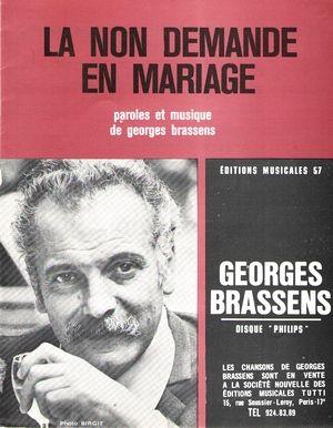 La Non Demande En Mariage Chords