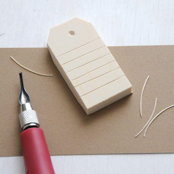 einen tagstempel aus radiergummi stempeln karten pinterest stempel stempeln und stempel. Black Bedroom Furniture Sets. Home Design Ideas