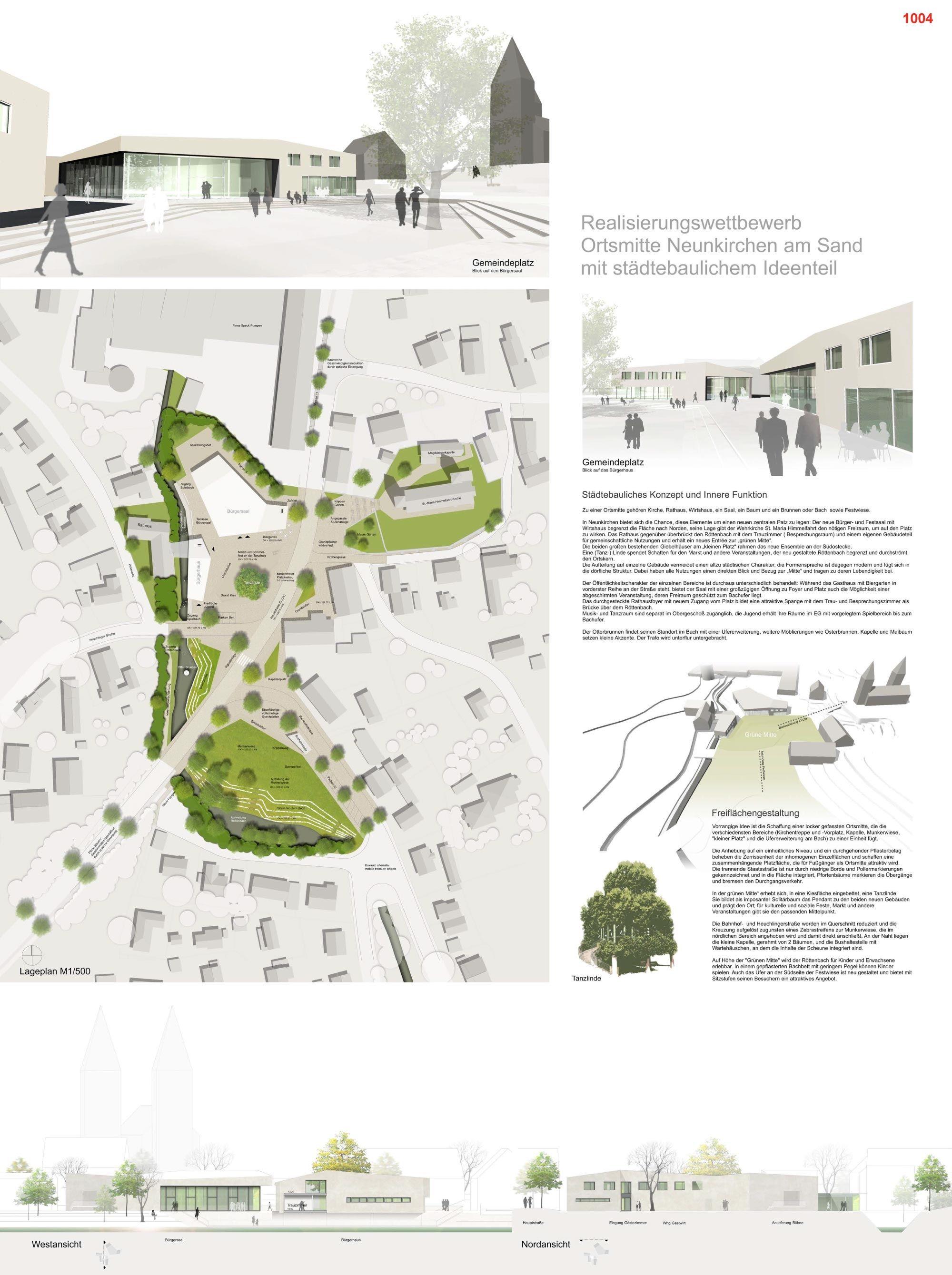 © Lorenz Landschaftsarchitekten Stadtplaner, raum3architekten, Dr. Kreutz+Partner