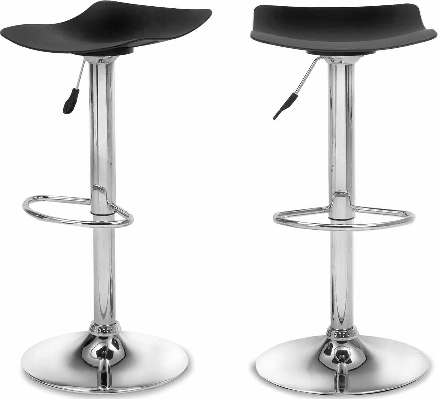 Sensational Made Black Bar Stool Products Adjustable Bar Stools Machost Co Dining Chair Design Ideas Machostcouk
