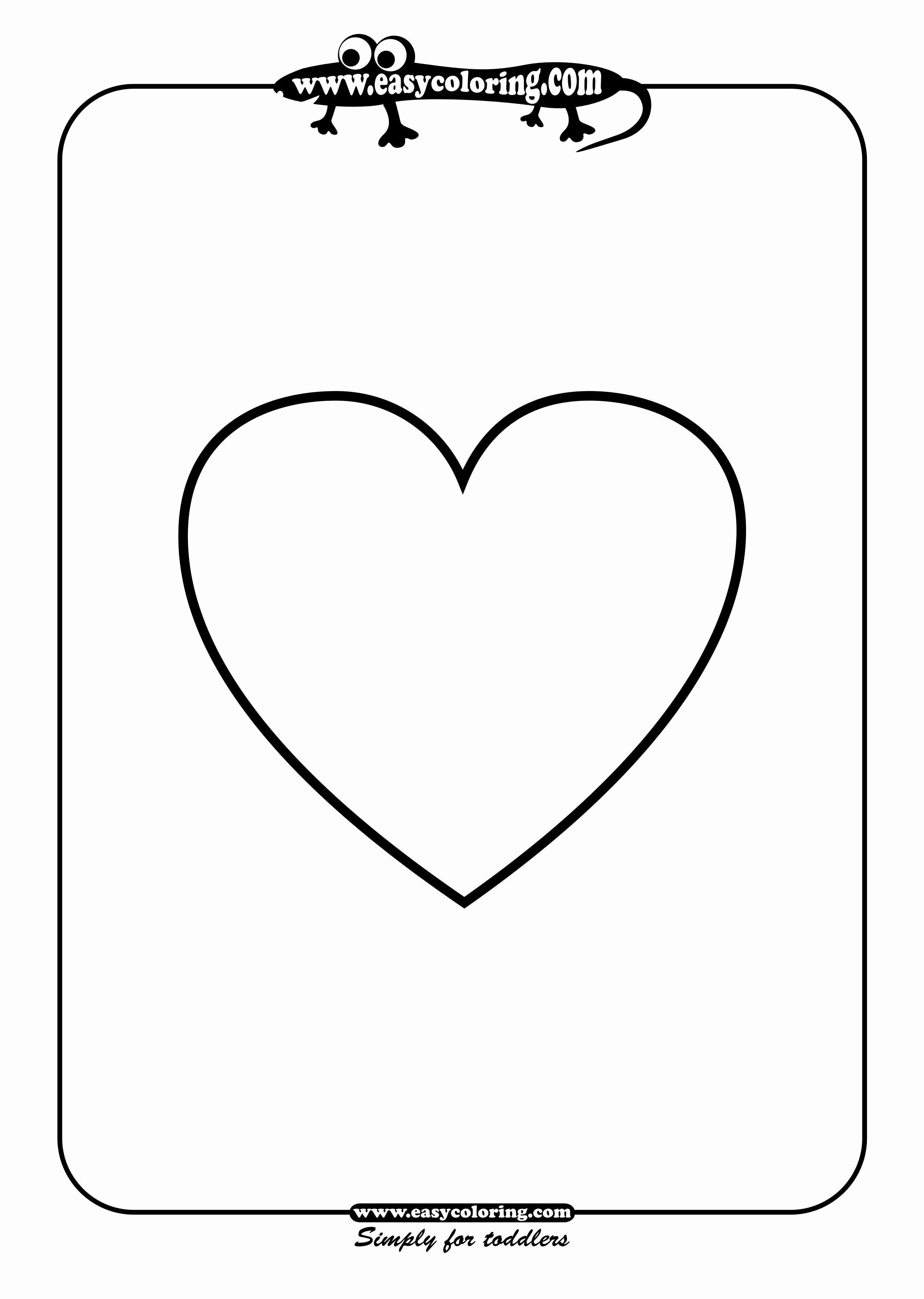 28 Heart Shape Coloring Page In 2020 Heart Coloring Pages