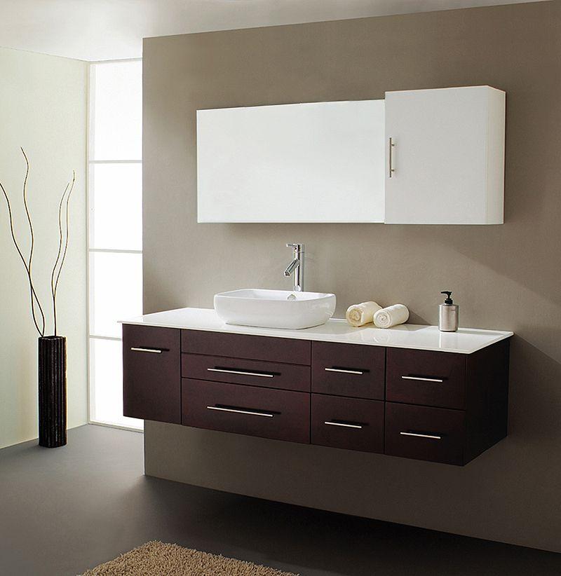 Justine Modern Bathroom Vanity Um 3050 By Virtu Usa Floating Bathroom Vanities Single Sink Bathroom Vanity Modern Bathroom Vanity
