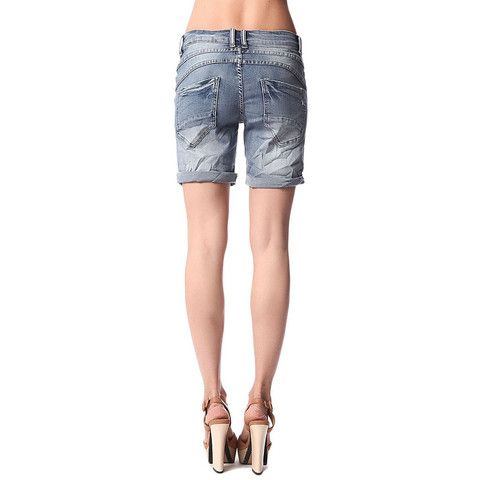Denim shorts with roll hem and exposed buttons https://www.ktique.com/collections/jeans #lovektique