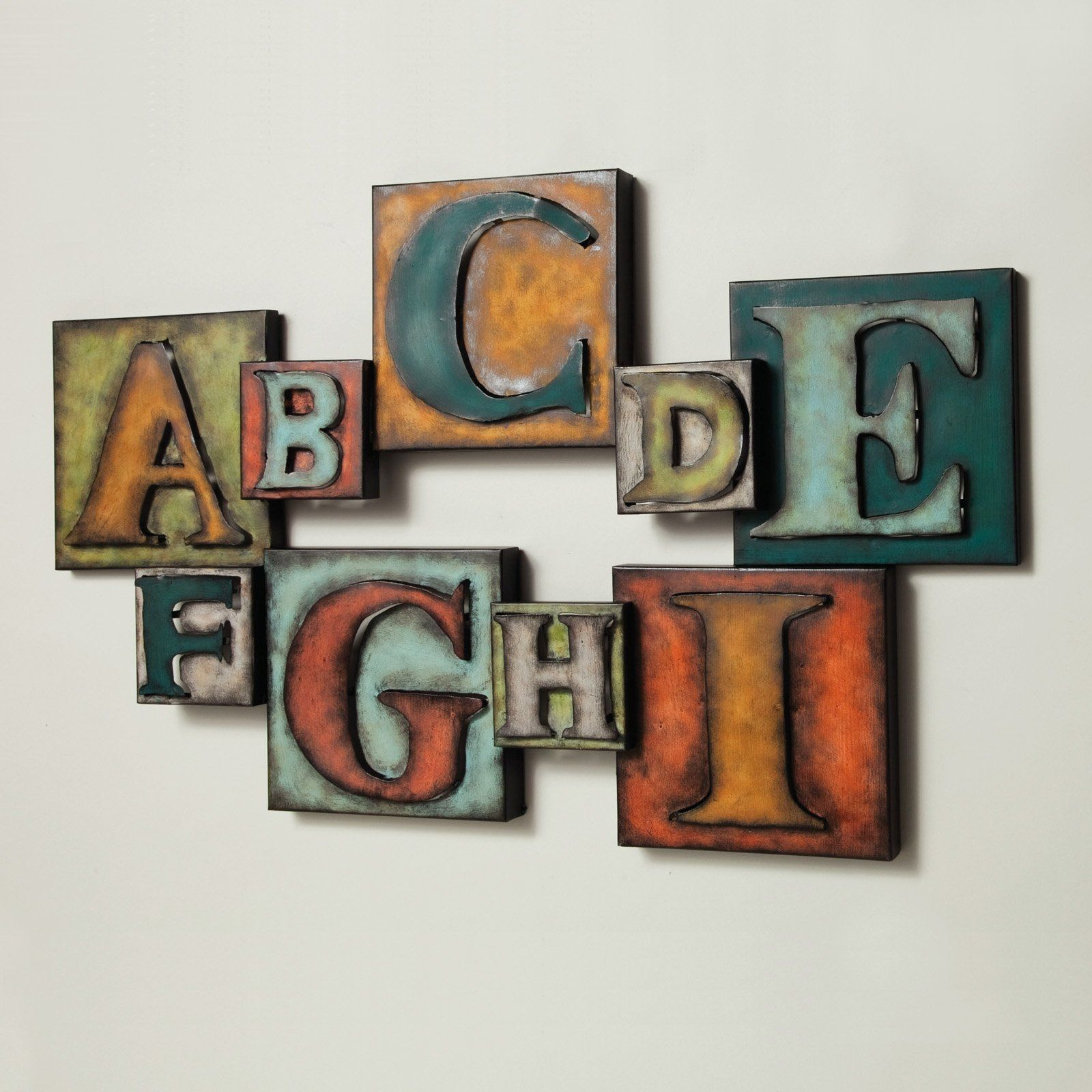 Letters metal wall art things for my wall pinterest metal wall