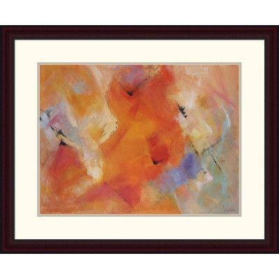 """Global Gallery 'Emozioni Colorate' by Tebo Marzari Framed Painting Print Size: 26"""" H x 32"""" W x 1.5"""" D"""