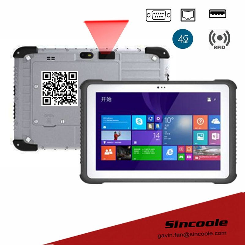 Rs232 Serial Db9 Port 4g 64g Ram Rom Windows 10 Port Rugged Tablets Rugged Tablet Tablet Biometric Devices