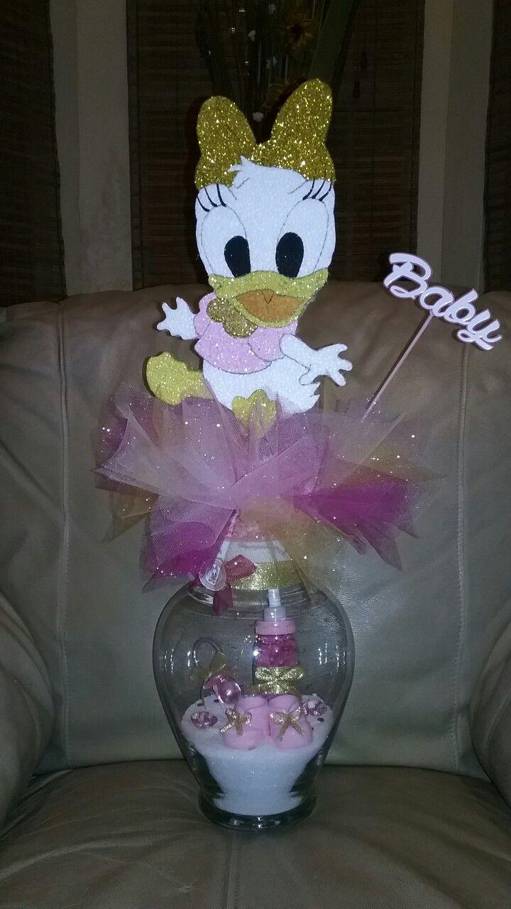 Centro De Mesa Baby Shower Daisy Duck Baby Shower In 2018