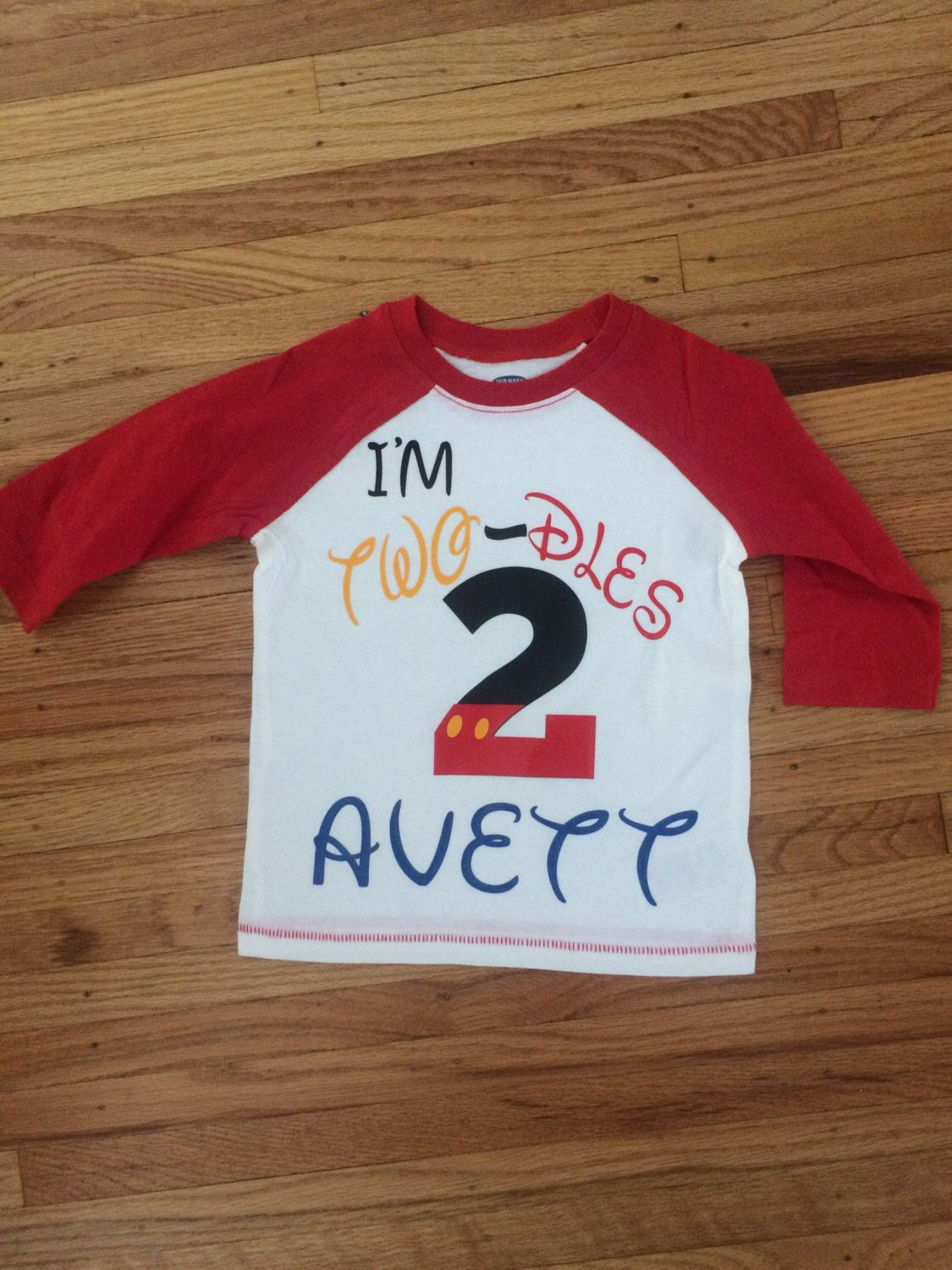 Im two dles mickey mouse inspired childrens birthday