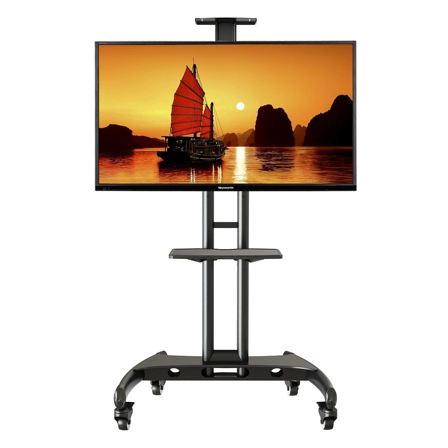 Tv Cart For An Outdoor Television Tv Cart Outdoor Tv Tv Stand