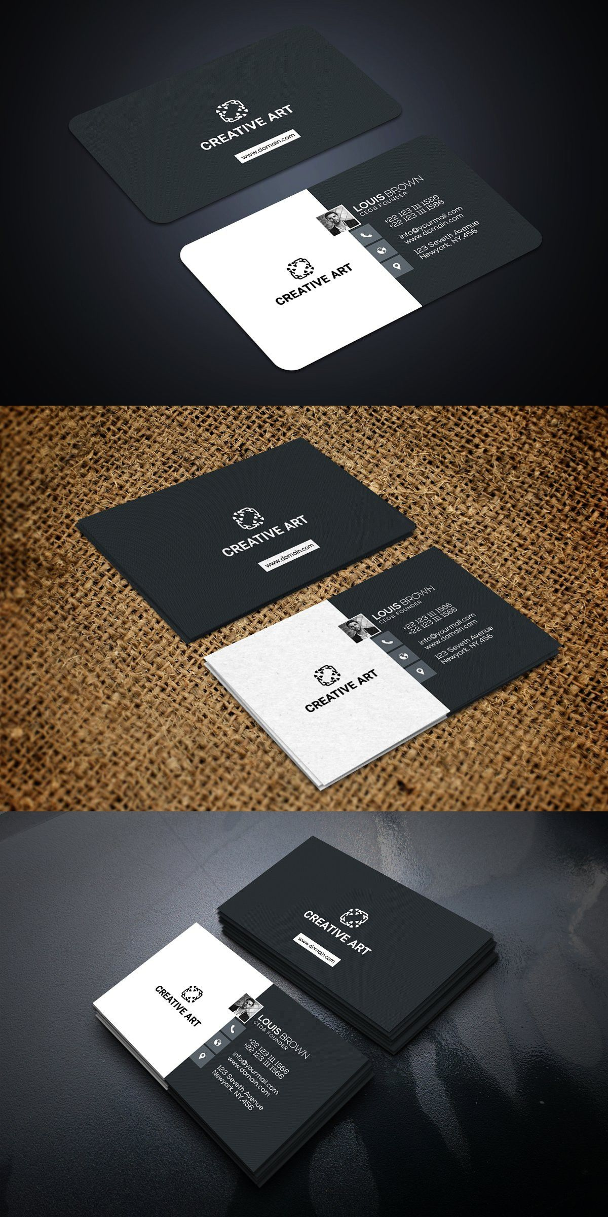Creative Agency Business Card Agency Business Cards Creative Agency Business Card Creative Agency