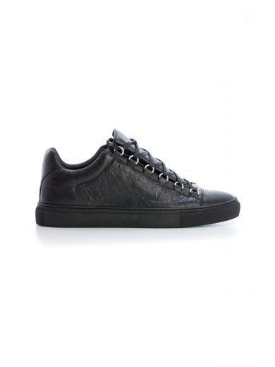 Balenciaga Ladies Black Arena Leather